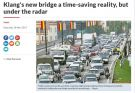 Klang Third Bridge still under the radar