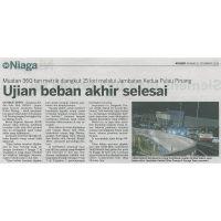 Jambatan Kedua P.Pinang Ujian Beben Selesai, by KOSMO 12 Dec 2013